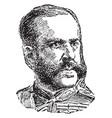 valeriano weyler vintage vector image vector image