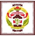 Mexican food tacos and burritos menu poster vector image