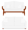 Classic and vintage furniture vector image