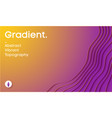 abstract gradient background paper cut 3d vector image vector image