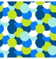 Bold print with circles vector image
