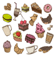 Confection drawing vector image