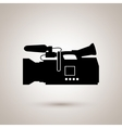 film industry flat icon design vector image