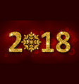 glitter background with golden dust for happy new vector image vector image