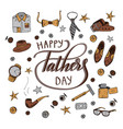 quote happy father s day excellent holiday card vector image vector image
