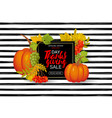thanksgiving day sale design sale banner vector image vector image