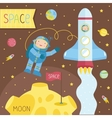 Cartoon about space vector image vector image
