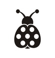 Ladybird icon vector image