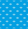 pirate saber pattern seamless blue vector image vector image