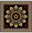 Traditional vintage gold Greek ornament vector image vector image
