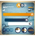 Set of Infographic elements Design template vector image