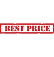 Best price stamp vector image