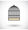 Cage icon vector image vector image