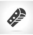 Corn burrito glyph style icon vector image vector image