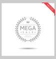 mega sale icon vector image vector image