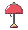 night light icon cartoon style vector image vector image