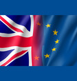 symbol united kingdom is eu member vector image vector image