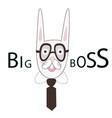 big boss print vector image vector image