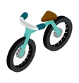 Bike 3d isometric icon vector image vector image