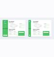 car insurance app design application interface vector image