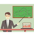 Data Processing Business Planning vector image