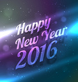 happy new year shiny glowing background vector image vector image