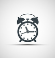 icons alarm clock vector image