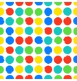 Modern bold bright print vector image vector image