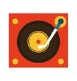 music vinyl retro icon vector image vector image