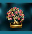 precious bonsai vector image
