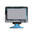 screen monitor device technology digital vector image