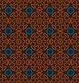 Arabic traditional seamless pattern islamic vector image