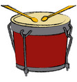 african drum music instrument vector image