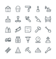 Construction Cool Icons 2 vector image vector image