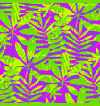 exotic summer seamless pattern vector image vector image