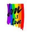 gay pride lgbt flag vector image vector image