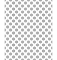 pattern of gray dots vector image vector image