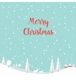 Merry christmas deer Happy New Year vector image