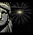 liberty vector image