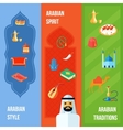 Arabic Culture Banner vector image vector image