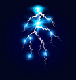 ball lightning plasma sphere electric discharge vector image vector image