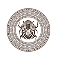 bug insect tattoo animal design vector image