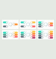 business infographic organization charts with 3