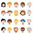 Character Set vector image vector image