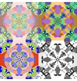 colorful seamless tile pattern vector image