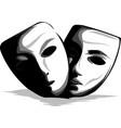 facial mask flat icon medicine cosmetology vector image