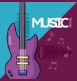 festival music poster vector image