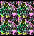 fidget spinner seamless hand drawn seamless vector image vector image