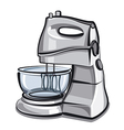 food processor vector image vector image