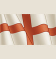 vintage flag england close-up background vector image vector image